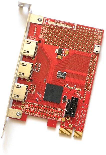 KNJN com - FPGA-PCI Express & HMDI board