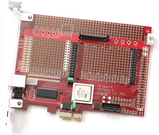 KNJN com - FPGA-PCI Express & FX2 USB board